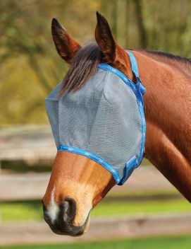 Buzz Away Fly Mask Deluxe Trim