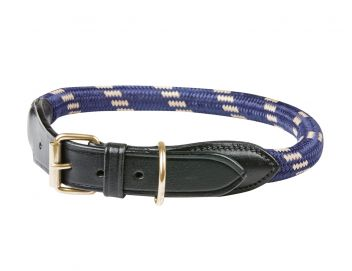 Rope Leather Dog Collar