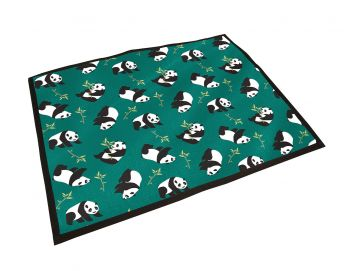 Patterned Pillow Dog Bed