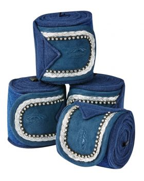 Fleece Bling Bandage 4 Pack