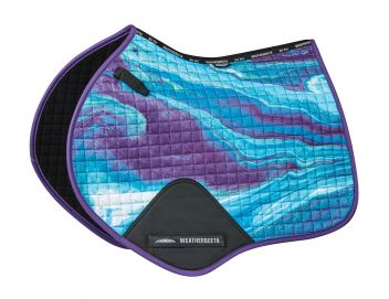 Prime Marble Jump Shaped Saddle Pad