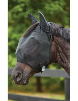 ComFiTec Double Dart Deluxe Fly Mask With Ears
