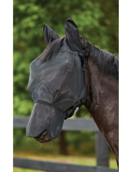 ComFiTec Double Dart Deluxe Fly Mask With Ears And Nose