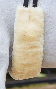 Merino Sheepskin Girth Cover